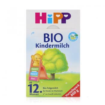 德国 HiPP BIO 喜宝 有机奶粉4段2079(12个月+)800g