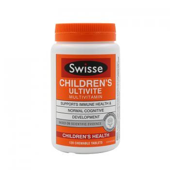 澳洲swisse儿童复合维生素矿物质咀嚼片 120片(新西兰包装)